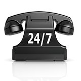 Black 247 phone