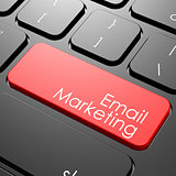 Email marketing keyboard