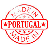 Made in Portugal red seal