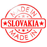 Made in Slovakia red seal