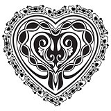 Valentine Day tatto heart