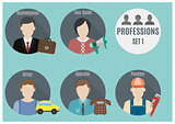 Profession people. Set 1