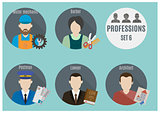 Profession people. Set 6