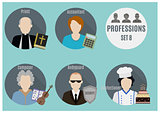 Profession people. Set 8