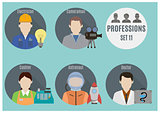 Profession people. Set 11