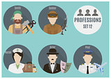 Profession people. Set 12