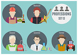 Profession people. Set 13