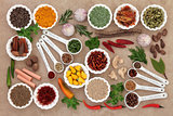 Herb and Spice Ingredients