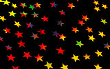 Festive starry background