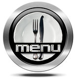Restaurant Menu - Metal Icon