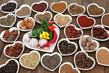 Herb and Spice Food Sampler