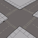 Empty Intersection Background