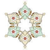 artistic ottoman pattern series eight