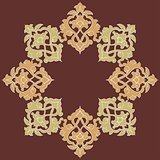 artistic ottoman pattern series eighteen