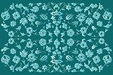 artistic ottoman pattern series fourty six