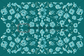 artistic ottoman pattern series fourty six