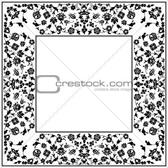 artistic ottoman pattern series fourty