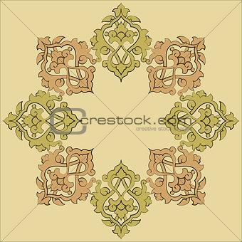 artistic ottoman pattern series nineteen