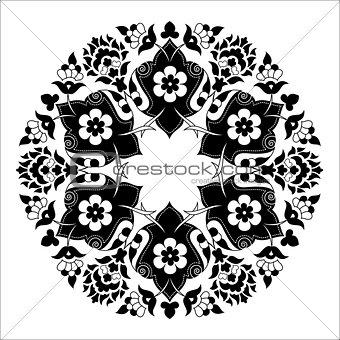 artistic ottoman pattern series seven