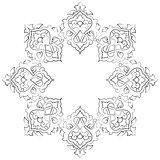 artistic ottoman pattern series seventeen