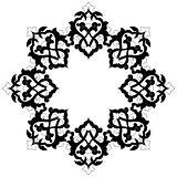 artistic ottoman pattern series sixteen