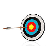 Arrow and board