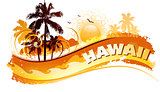 Tropical hawaii background