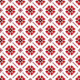 Vector illustration of ukrainian folk seamless pattern ornament. Ethnic ornament. Border element.