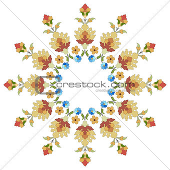 artistic ottoman pattern series thirty six