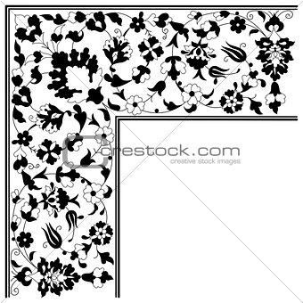 artistic ottoman pattern series twenty five