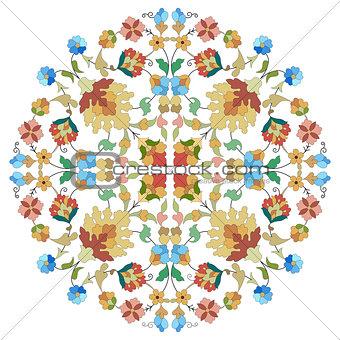 artistic ottoman pattern series twenty nine