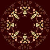 artistic ottoman pattern series twenty three