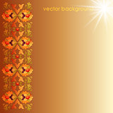 floral vector background one