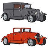 Funny vintage cars
