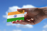 Small Indian flag