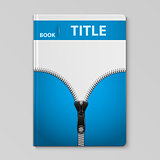 Book Template With Knitted Textile Design