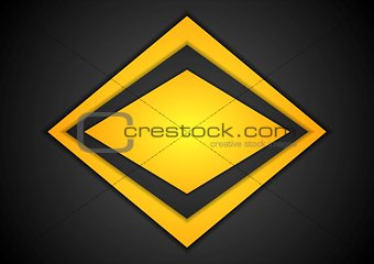 Abstract corporate shape background