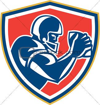American Football Player Ball Side Shield