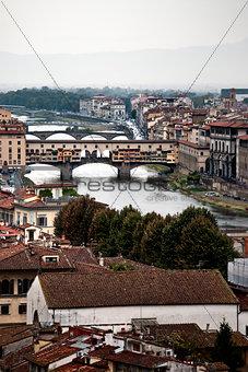 Bridges over the River Arno