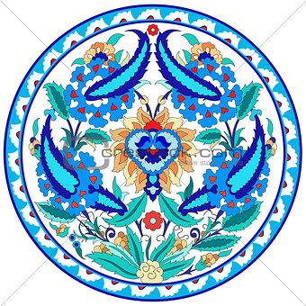 artistic ottoman pattern series fourty seven