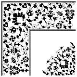 artistic ottoman pattern series twenty five version