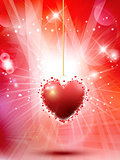 Decorative Valentines heart background