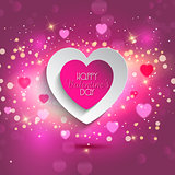 Valentines Heart background