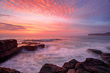 North Avoca sunrise seascape