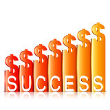 Money Success Concept