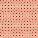 net pattern with hearts
