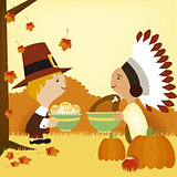 thanksgiving day and pioneers 2