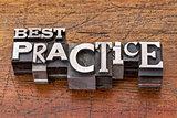 best practice in metal type