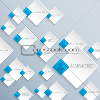 Abstract rhomb background design