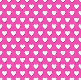 Valentine's day heart patterned background